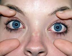 Sub the blue for brown eyes and that's how I've been feeling when I come home from work.