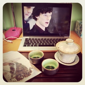 Photo thanks to Rachel Carter of iHeartTeas! (Check out that tea ware!)