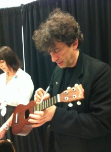 Yep, the man himself signing my ukelele