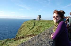 Me at the Cliffs of Moher - Oct. '13.